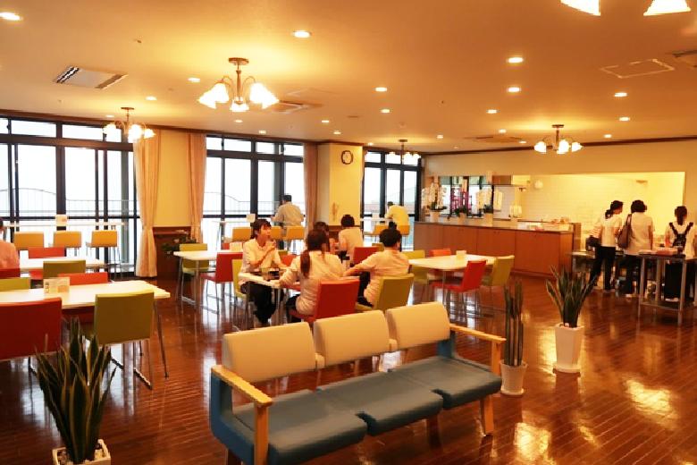 職員食堂「稲佐の森レストラン」レストラン