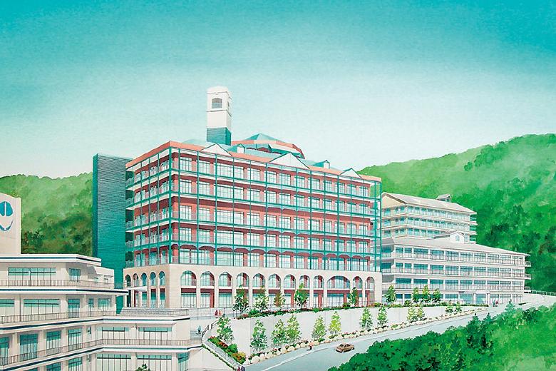 特別養護老人ホーム鶴舞苑(かくぶえん) 建物イメージ