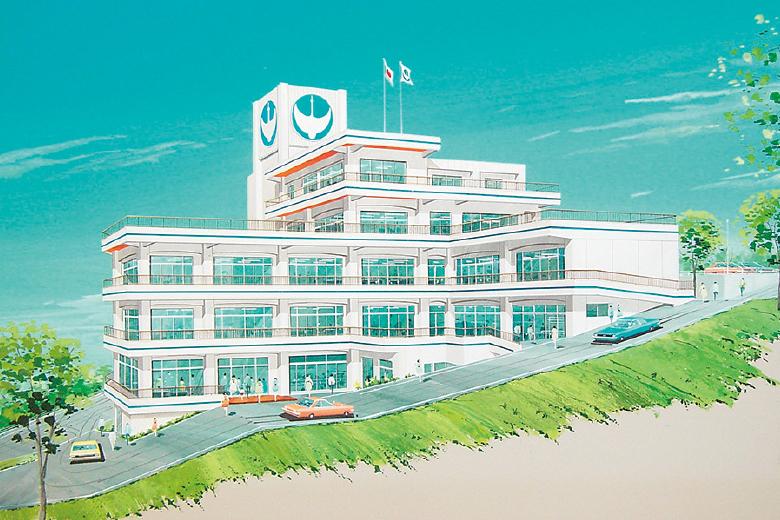 特別養護老人ホーム鶴舞苑(かくぶえん)建物イメージ
