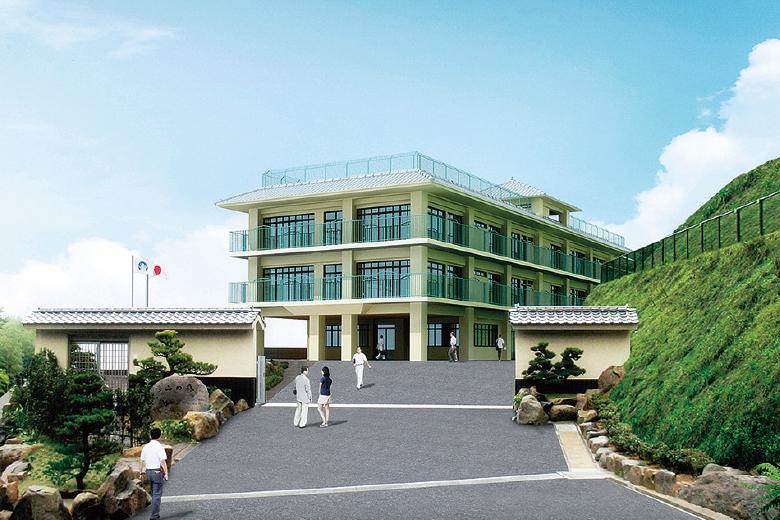 救護施設彦山の森 建物イメージ